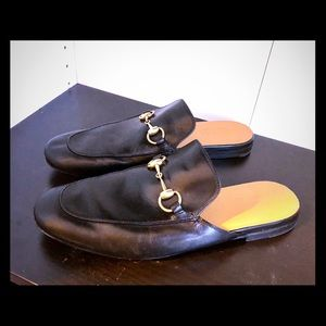 EUC Gucci Princetown slippers in size 7 1/2 men's